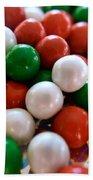 Christmas Candy Beach Sheet