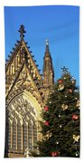 Christmas In Cologne Beach Towel