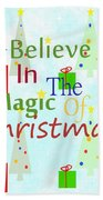 Christmas Magic Beach Towel