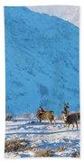 Christmas Morning Magic Beach Towel