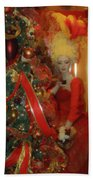 Christmas Parlor Fashions For Evergreens Event Hotel Roanoke 2009 Beach Towel