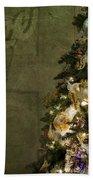 Christmas Peace Beach Towel