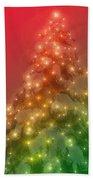 Christmas Radiance Beach Towel