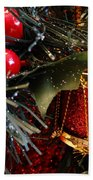 Christmas Time Is Here Beach Towel