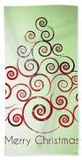 Christmas Tree Beach Towel