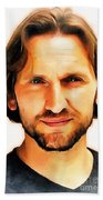 Christopher Eccleston Beach Towel