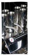 Chromed Fuel Injection Beach Towel