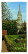 Church Garden Beach Towel