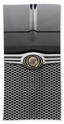 Chrysler 300 Logo And Grill Beach Towel