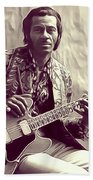 Chuck Berry, Music Legend Beach Towel