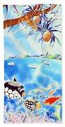 Churaumi Paradise Beach Towel