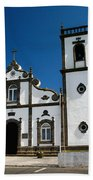 Church In The Azores Beach Sheet