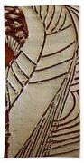 Church Lady 6 - Tile Beach Towel