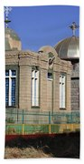 Church Of Our Lady Mary Of Zion Beach Towel