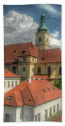 Church Of Our Lady Victorious Beach Towel