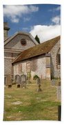 Church Of St. Lawrence West Wycombe 3 Beach Towel