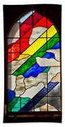 Church Window Beach Towel
