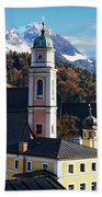 Churches In Berchtesgaden Beach Towel