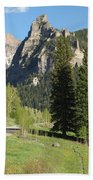 Cimarron Country Beach Towel by Eric Glaser