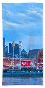 Cincinnati All Star Game  Beach Towel
