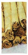 Cinnamon Sticks Beach Towel