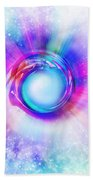 Circle Eye  Beach Towel by Setsiri Silapasuwanchai
