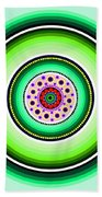 Circle Motif 229 Beach Towel
