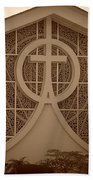 Circle T Church Beach Towel