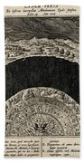 Circles Of Hell And Limbo, Jan Wierix Beach Towel