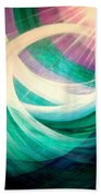 Circulation Beach Towel