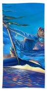 Cirque Du Sole Beach Towel