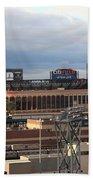 Citi Field - New York Mets Beach Towel by Frank Romeo