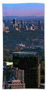 Cities Of Atlanta Beach Towel