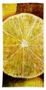 Citrus Beach Towel