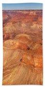 City - Arizona - Grand Canyon - The Great Grand View Beach Towel