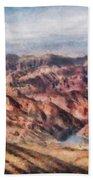 City - Arizona - Grand Hills Beach Towel