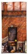 City - Door - The Back Door  Beach Towel