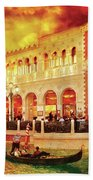 City - Vegas - Venetian - Life At The Palazzo Beach Towel