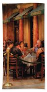 City - Venetian - Dining At The Palazzo Beach Towel