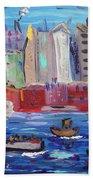 City City City Beach Towel