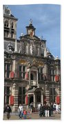 City Hall - Delft - Netherlands Beach Towel