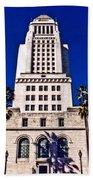 City Hall La Beach Towel