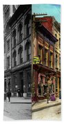 City - Knoxville Tn - Gay Street 1903 - Side By Side Beach Towel