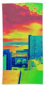 City Legos Beach Towel