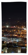 City Lights Over Bham, Al Beach Towel