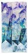 City Of Glass Beach Towel