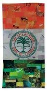 City Of Miami Flag Beach Towel