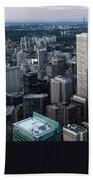 City Of Toronto Downtown Beach Towel