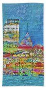 City On The Water Beach Towel