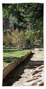 City Park Rhodes Greece Beach Towel